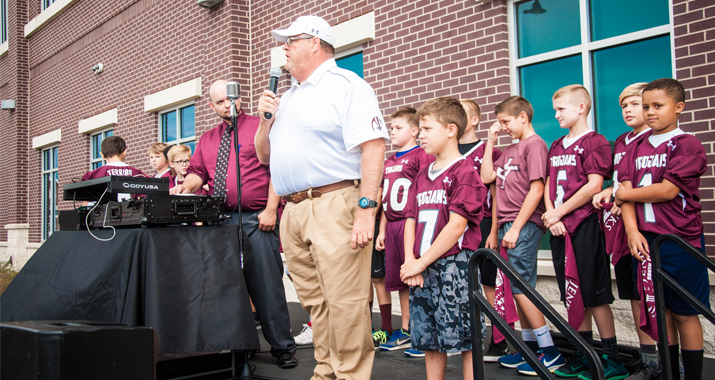 Jenks Public Schools Foundation Hometown Huddle