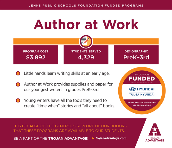 Jenks Public Schools Foundation Author at Work