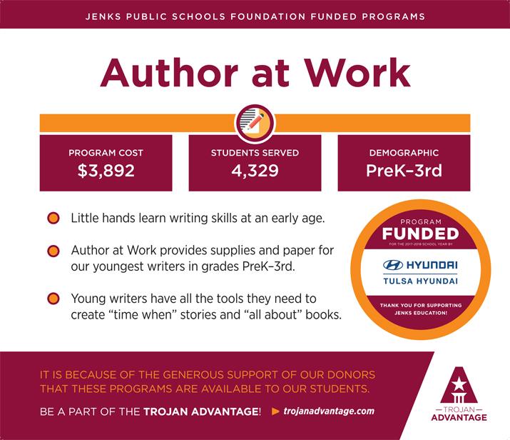 Jenks Public Schools Foundation Author at Work