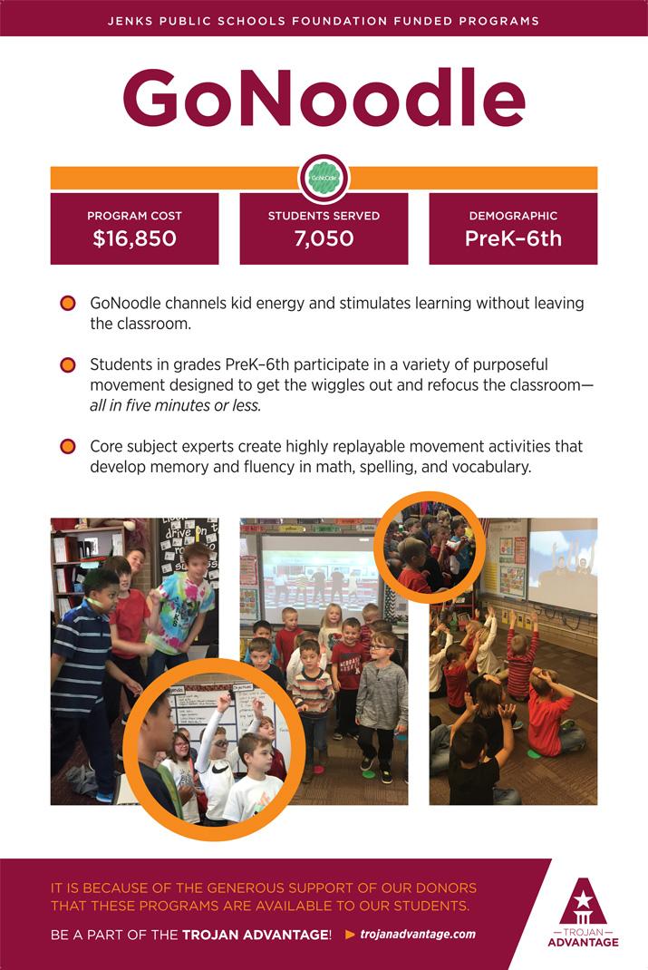 Jenks Public Schools Foundation GoNoodle