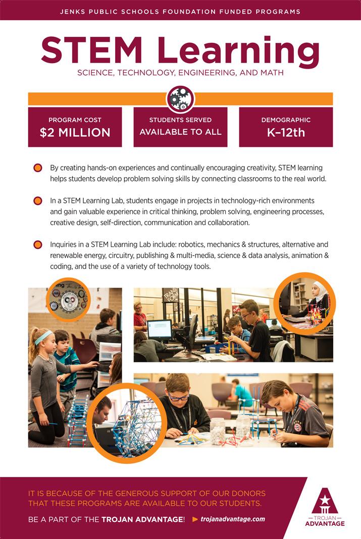 Jenks Public Schools Foundation STEM Learning